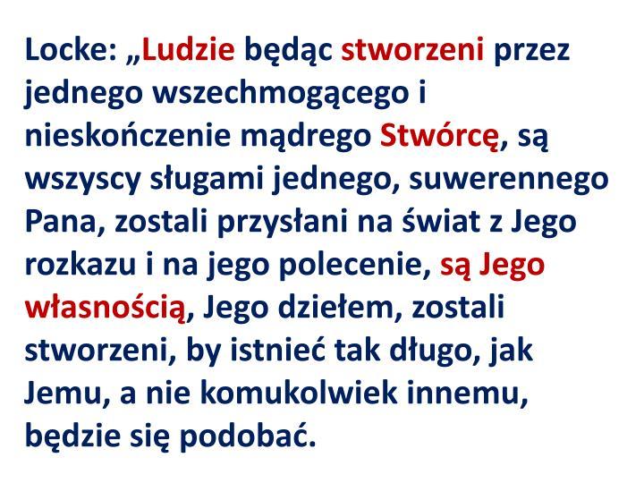 "Locke: """