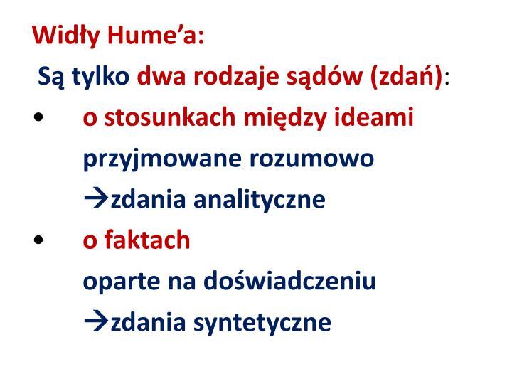 Widły Hume'a: