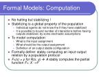 formal models computation