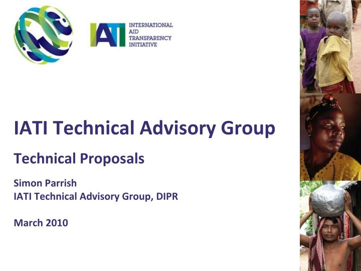 IATI Technical Advisory Group