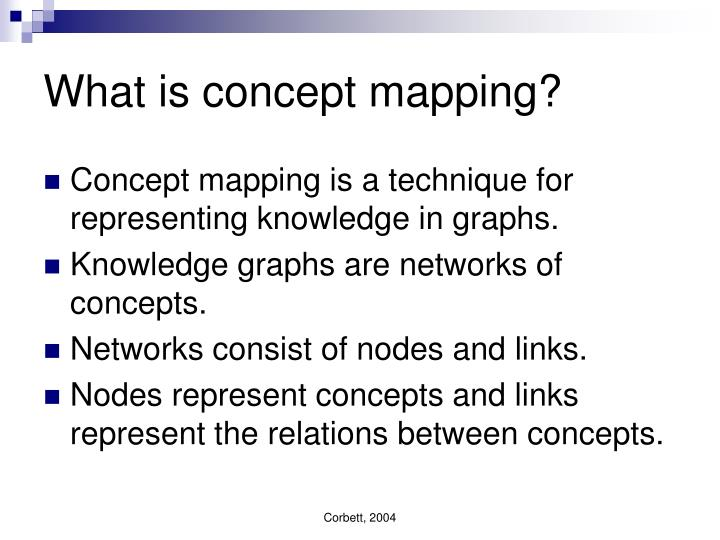 What is concept mapping?