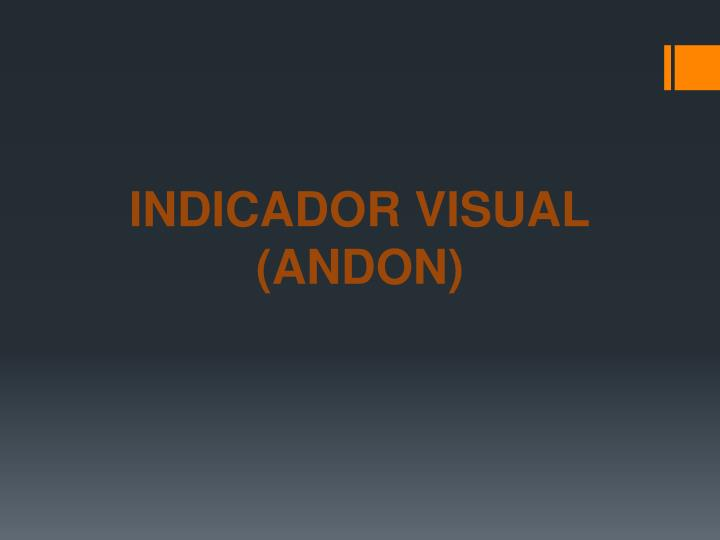 INDICADOR VISUAL