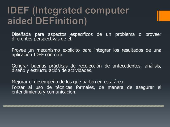 IDEF (