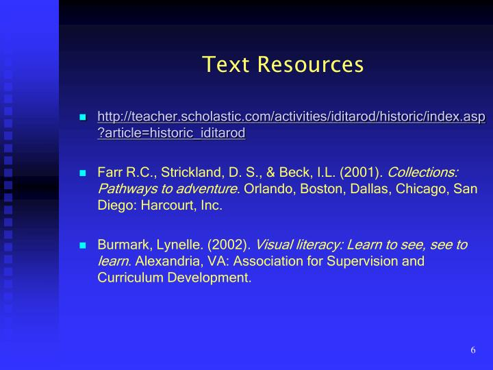 Text Resources