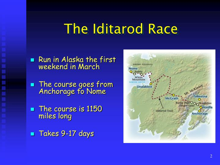 When will the 2017 Iditarod start? And answers to 14