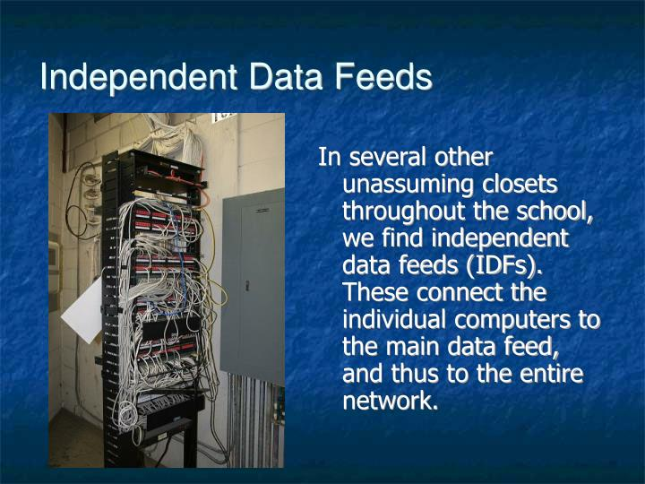 Independent Data Feeds