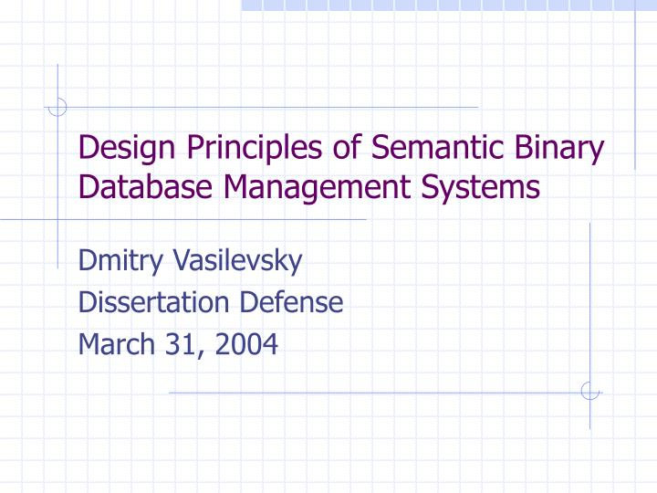 Phd Dissertation Semantic Web