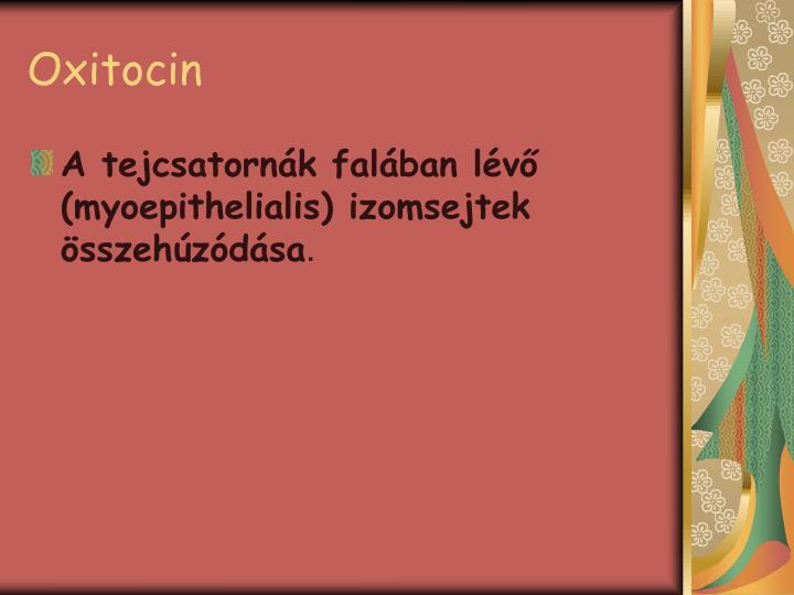 Oxitocin
