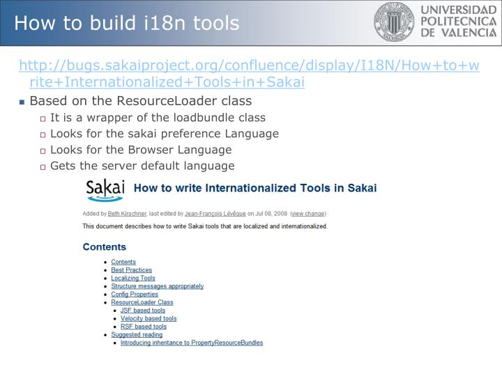 How to build i18n tools