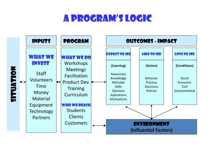 A Program's Logic