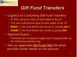 gift fund transfers1