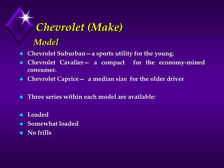 Chevrolet (Make)