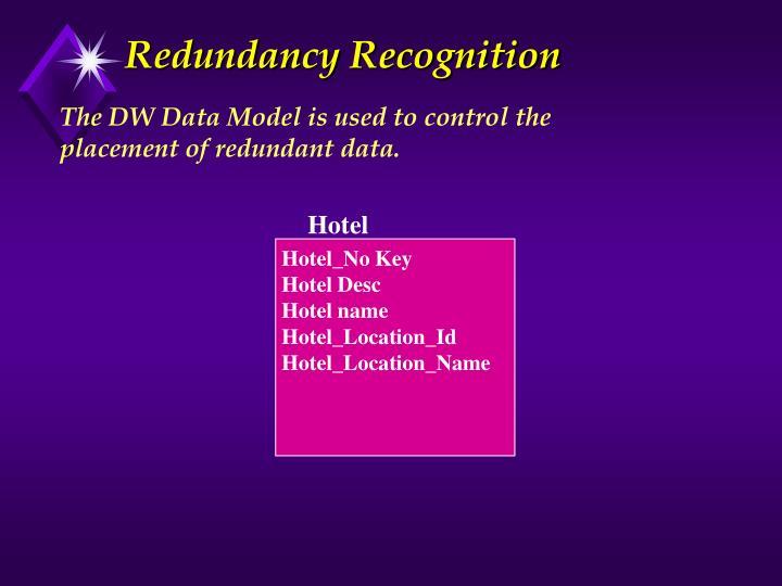 Redundancy Recognition