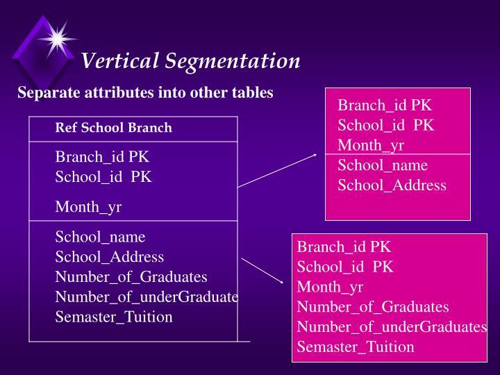 Vertical Segmentation
