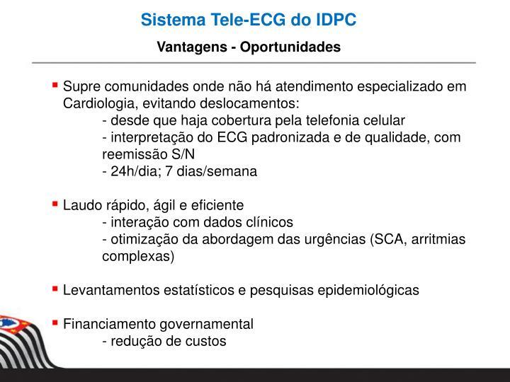 Sistema Tele-ECG do IDPC