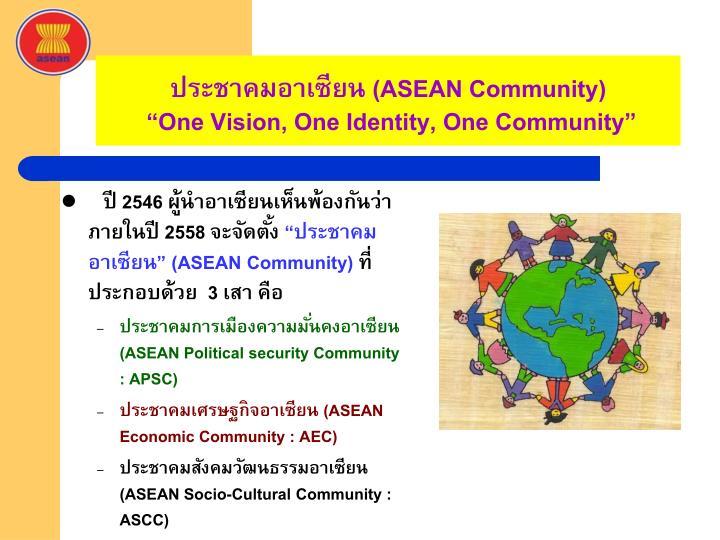 ประชาคมอาเซียน (
