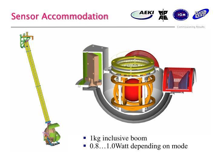 Sensor Accommodation