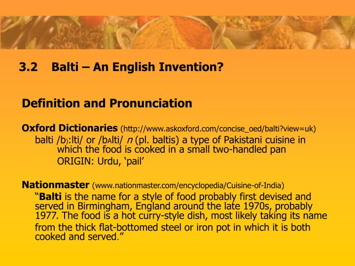 Definition and Pronunciation