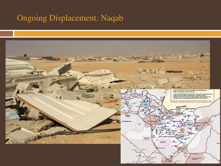 Ongoing Displacement: Naqab