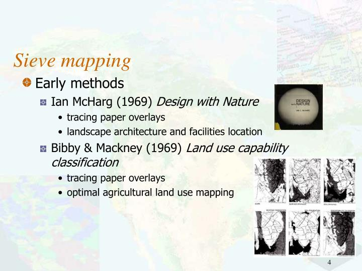 Sieve mapping