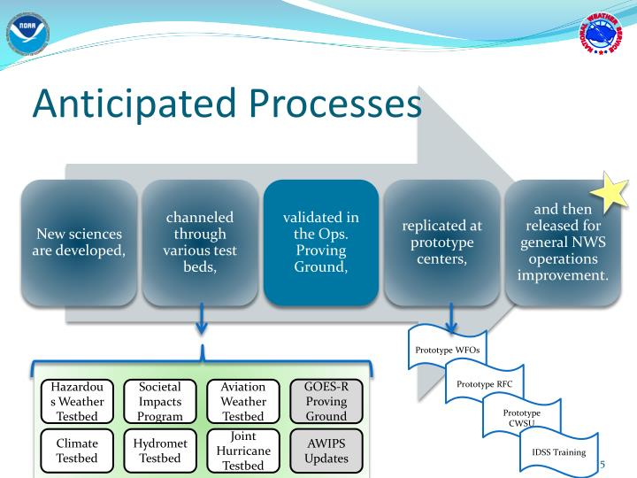 Anticipated Processes