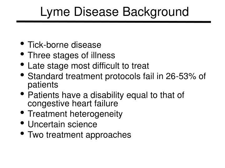 Lyme Disease Background