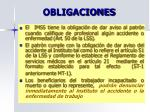 obligaciones