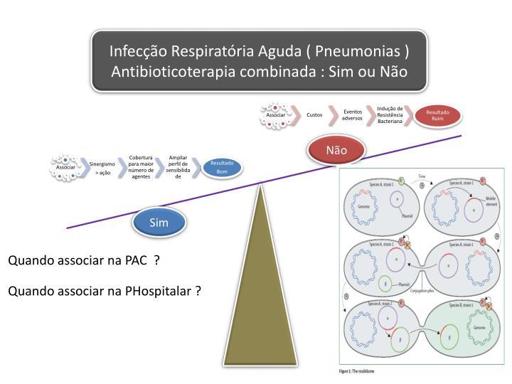 Infecção Respiratória Aguda ( Pneumonias )