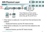 bri physical layer1