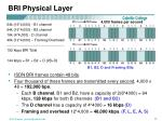 bri physical layer2