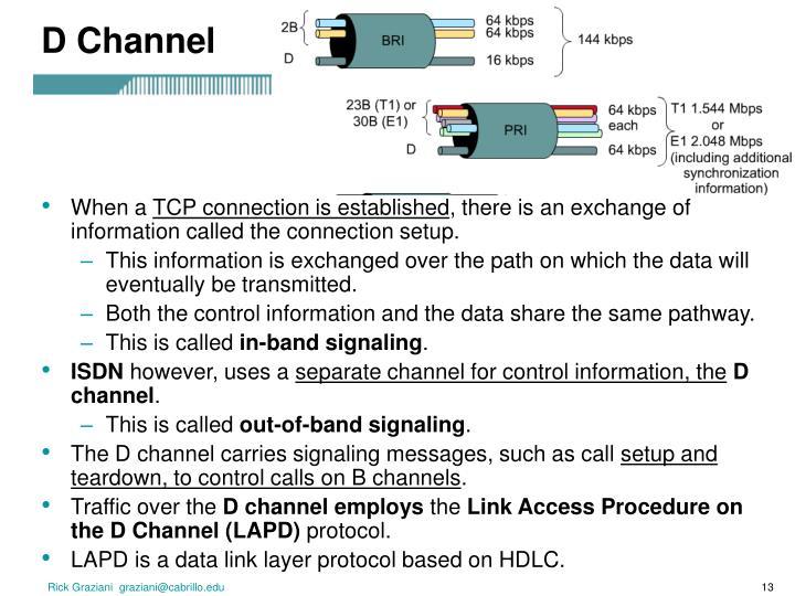 D Channel