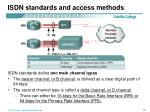 isdn standards and access methods1