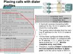 placing calls with dialer profiles1