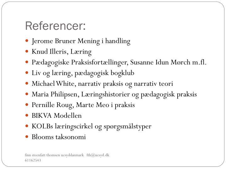 Referencer: