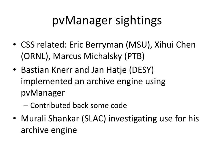 pvManager