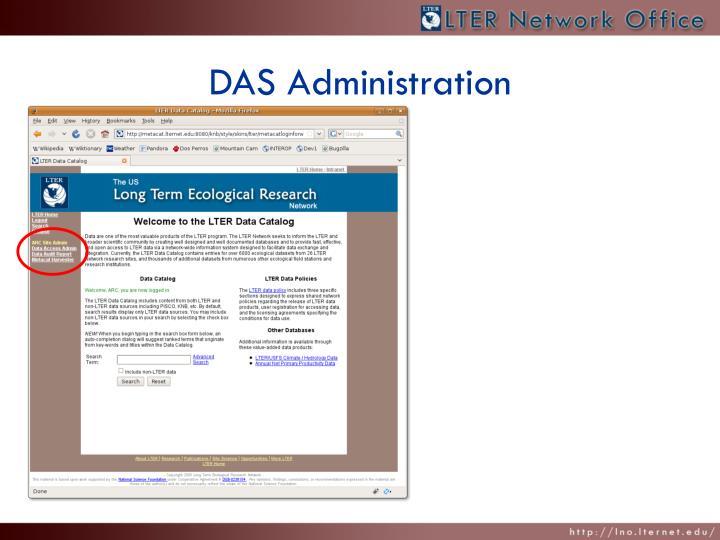DAS Administration