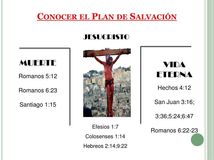 Conocer el Plan de Salvación
