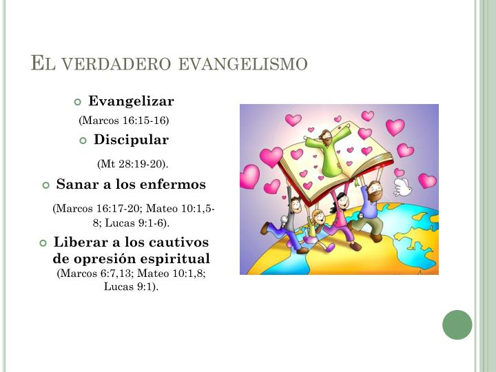 El verdadero evangelismo