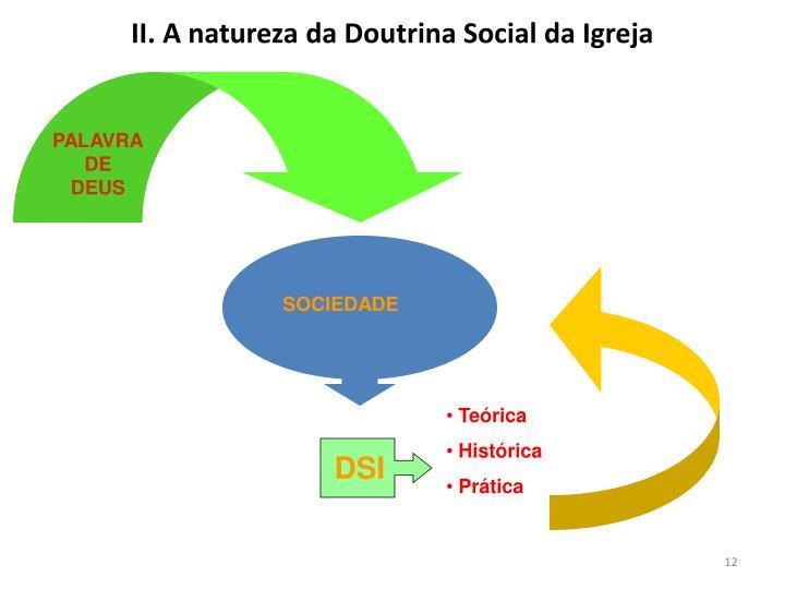 II. A natureza da Doutrina Social da Igreja