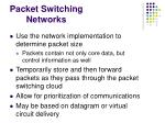 packet switching networks1
