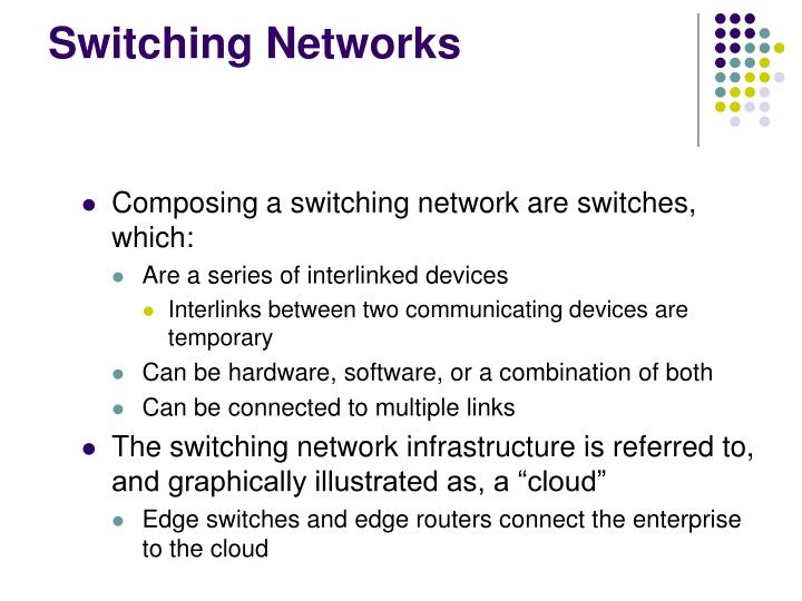 Switching Networks