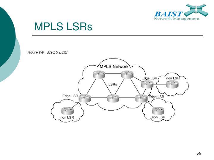 MPLS LSRs