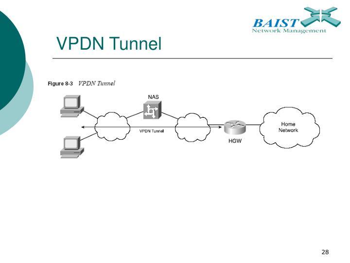 VPDN Tunnel