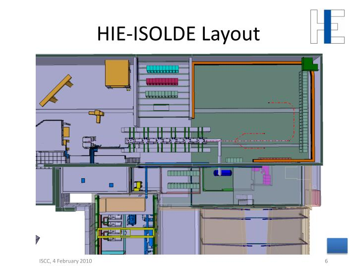 HIE-ISOLDE Layout