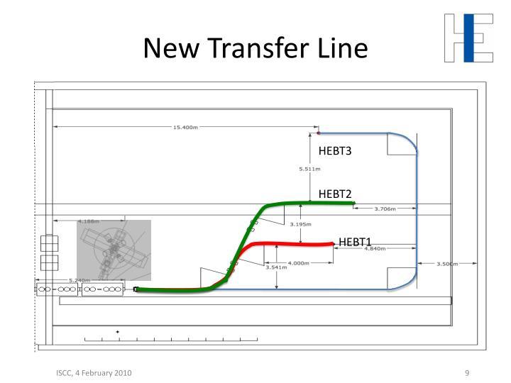 New Transfer Line
