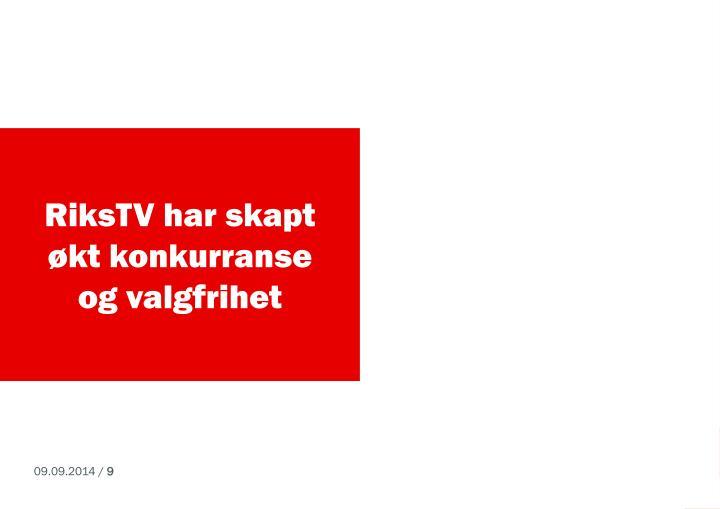 RiksTV har skapt