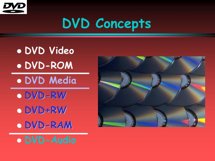 DVD Concepts