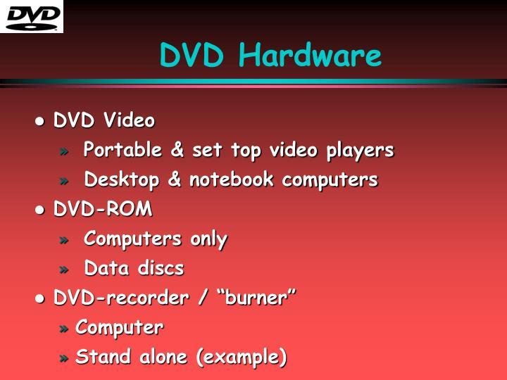 DVD Hardware