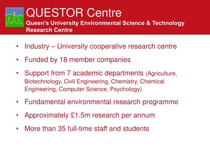 QUESTOR Centre