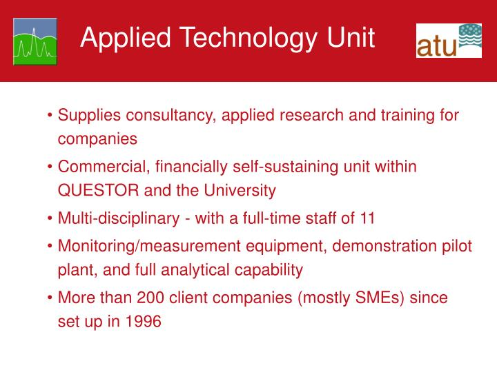 Applied Technology Unit